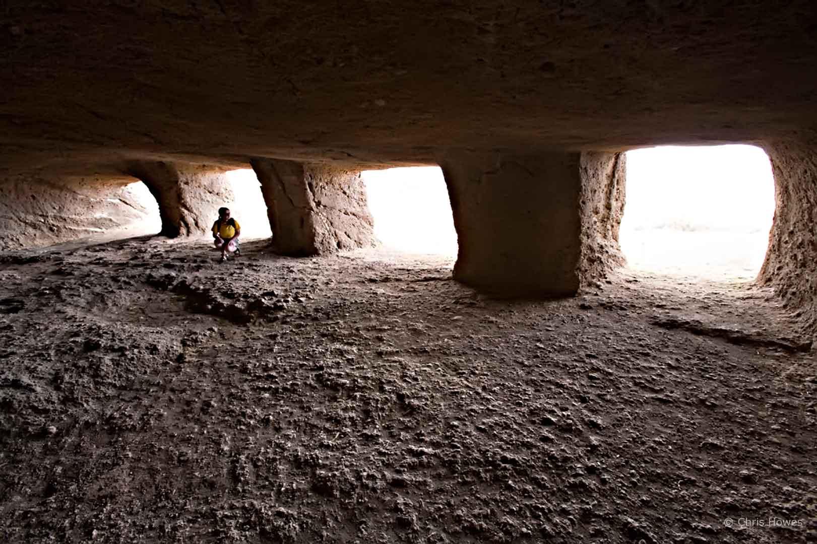 Cuevas de Cuatro Puertas, Gran Canaria