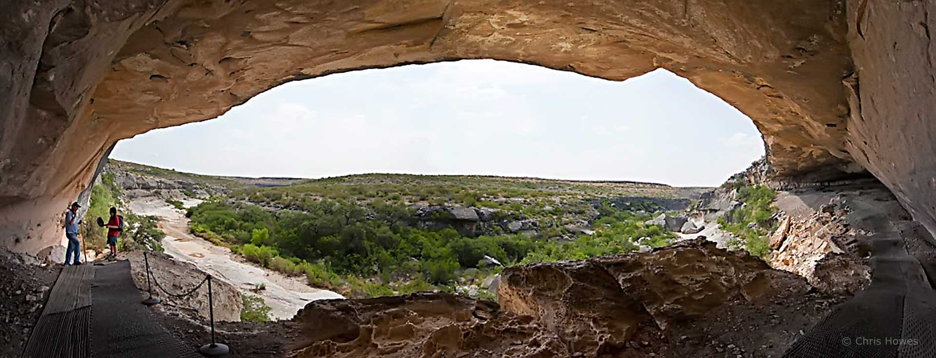 Fate Bell Shelter, Seminole Canyon, Texas