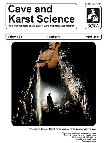 Cave and Karst Science, April 2011