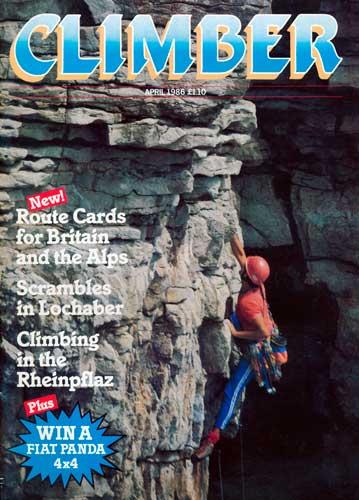 Climber, April 1986