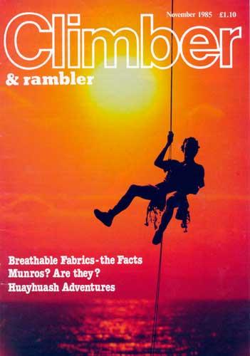 Climber, November 1985