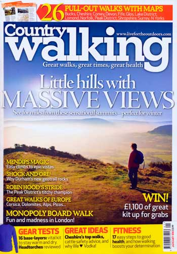Country Walking, January 2011
