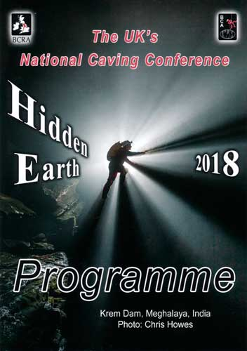 Hidden Earth 2018 Programme