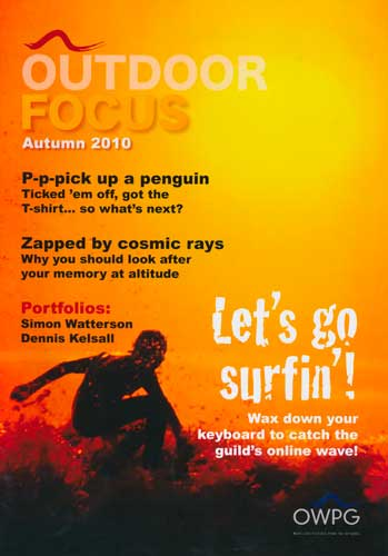 Outdoor Focus, Autumn 2010