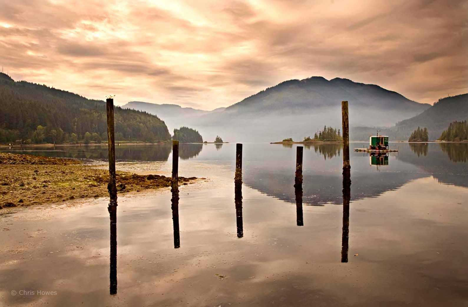 Port Alice, west coast of Vancouver island