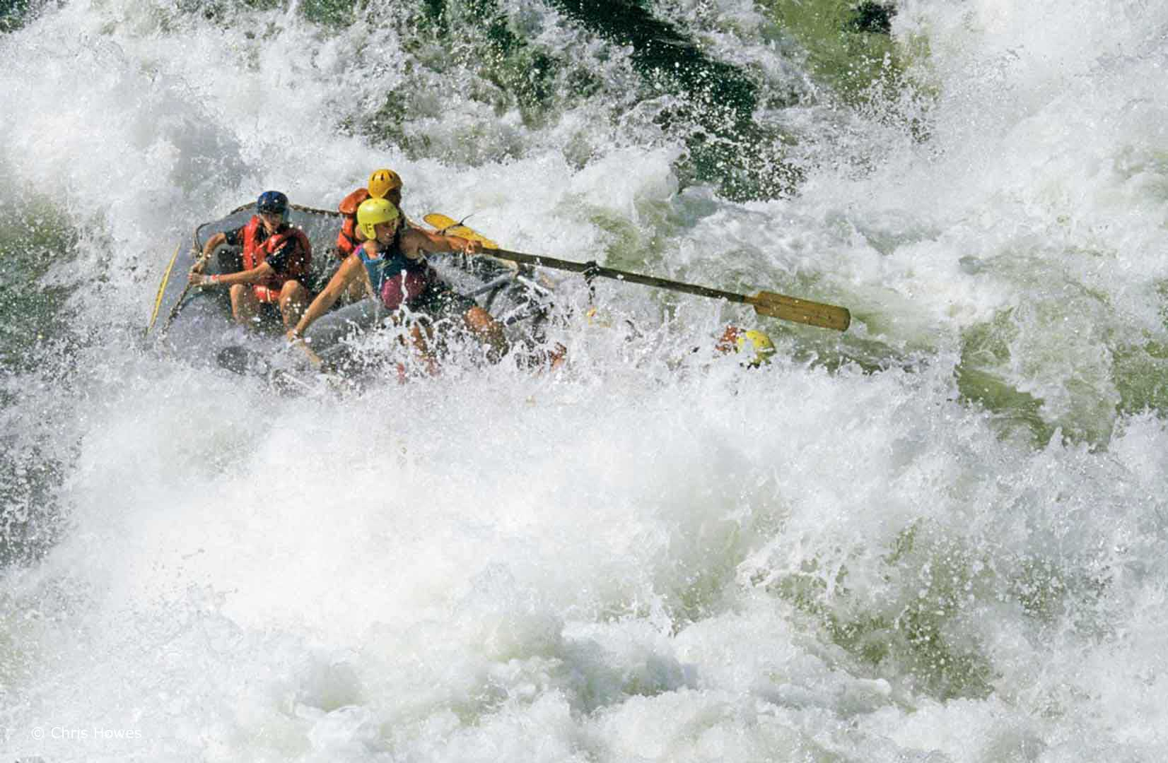 Whitewater rafting, Zambezi River
