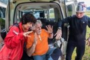 Daniil Li with Annie Guiraud and Philippe Crochet