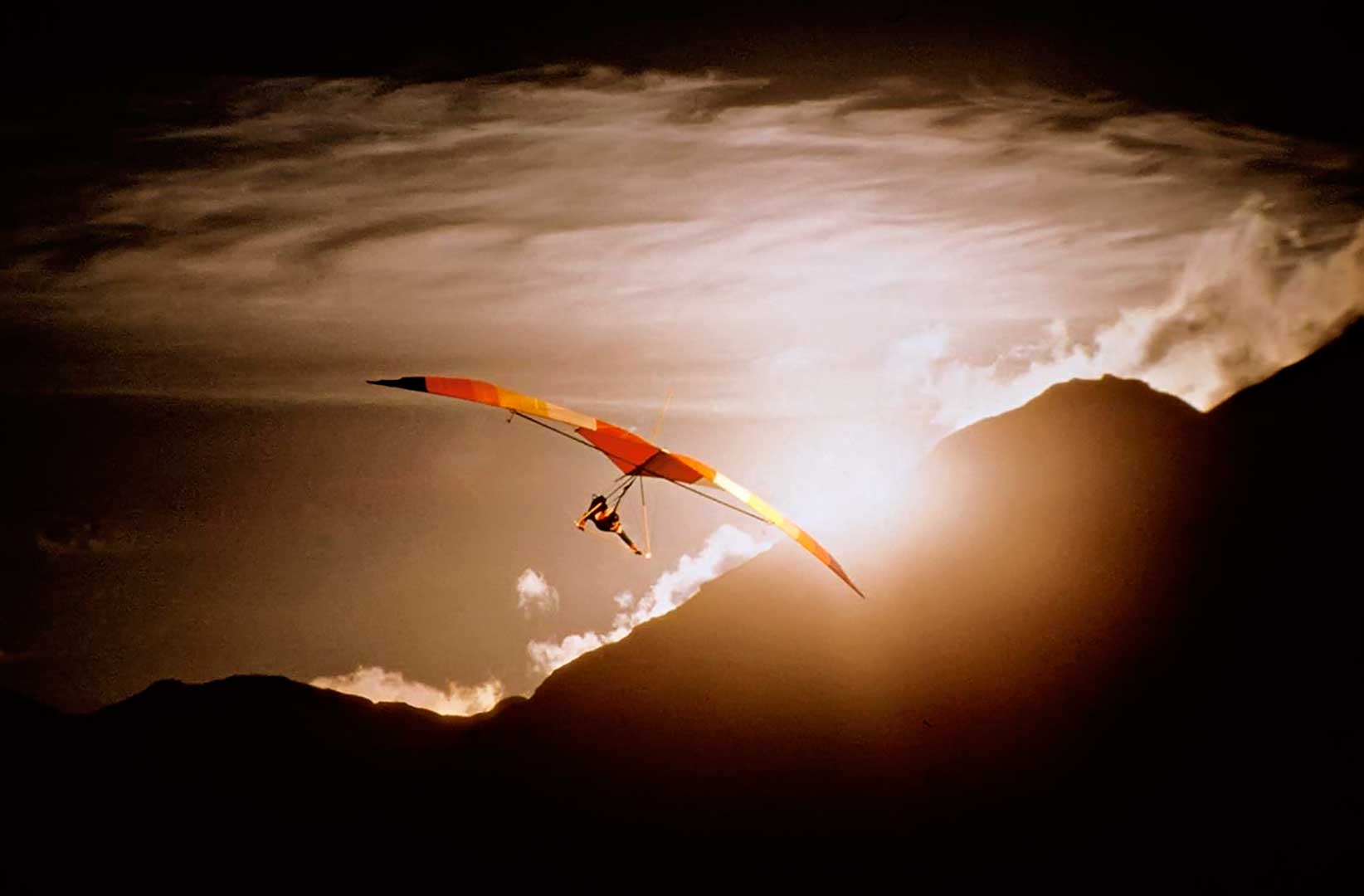 Hang-gliding, Lake District