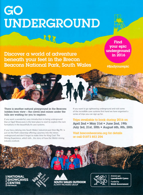Go Underground in Countryfile 2016
