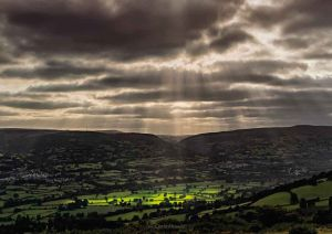 The Usk Valley, South Wales